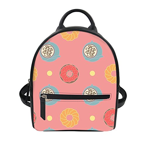 main voyage sac filles ThiKin à à 2 dos artificiel Multicolor dos Dessert cartable Femmes Imprimé sac Cuir nCw00OpxY