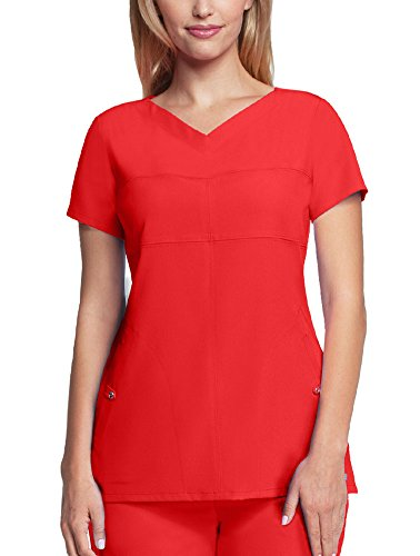 Grey's Anatomy Signature Women's 2120 2 Pocket Soft V-Neck Scrub Top- Poppy- 2X-Large ()