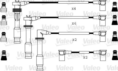 Valeo 346045 Ignition Cable: