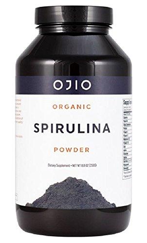 Ojio - Spirulina Powder Organic - 8.8 oz by Ojio