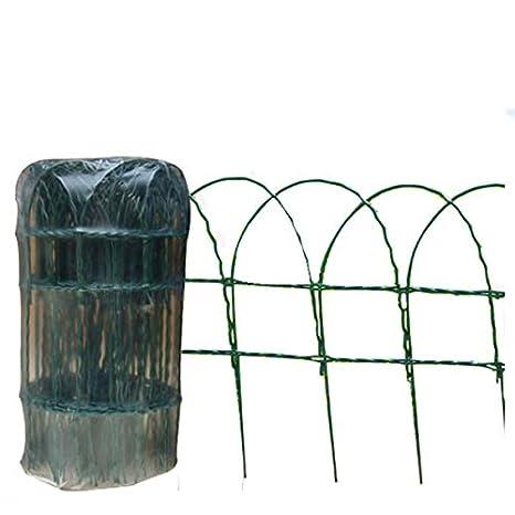 Hamble Distribution ltd Green Blade BB-CW125 Grillage de clôture pour  Jardin en PVC Vert 10 x 0,25 m