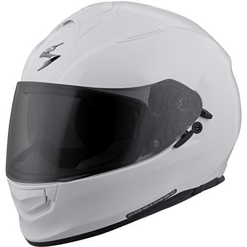 ScorpionExo Unisex-Adult full-face-helmet-style EXO-T510 Helmet (500 Series) (White,Medium), 1 ()