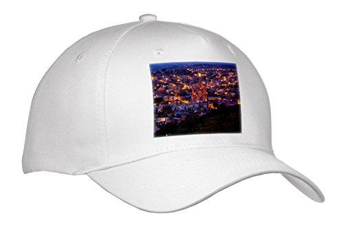 3dRose Danita Delimont - Cities - Mexico, San Miguel de Allende, Evening City View from Above. - Caps - Adult Baseball Cap (Cap_278299_1)