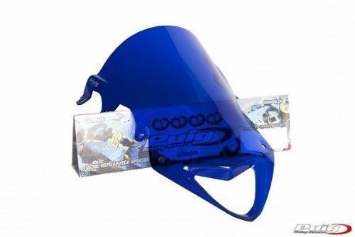 Puig Racing Windscreen Blue for Suzuki GSX-R1000 GSXR 1000 (Gsxr1000 Blue Windscreen)