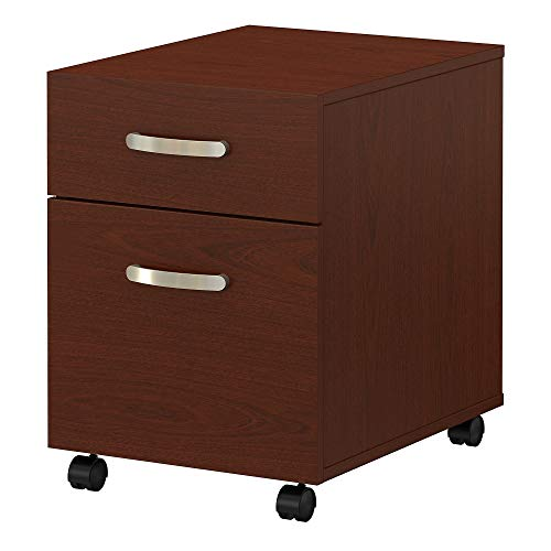 Bush Furniture Commerce 2 Drawer Mobile File Cabinet in Autumn Cherry