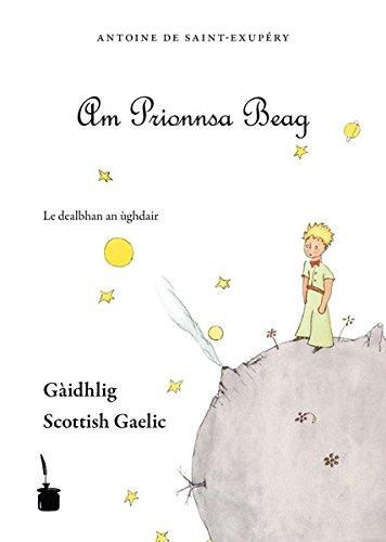 Der kleine Prinz. Le Petit Prince-Scottish Gaelic