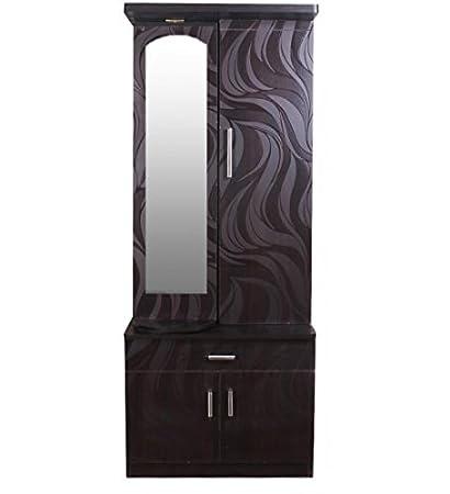 SAVERSCHOICE Modern U0026quot;Su0026quot; Textured Engineered Wood Dressing Table  ...