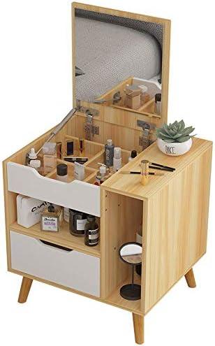 Shwk Tocador tocador Dormitorio Simple Mesa de Maquillaje con ...