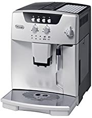 De'Longhi ESAM04110S Magnifica Fully Automatic Espresso Machine with Manual Cappuccino System, Silver