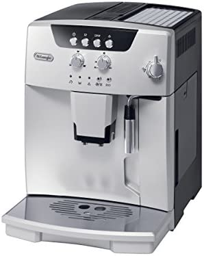 De Longhi ESAM04110S Magnifica Fully Automatic Espresso Machine with Manual Cappuccino System, Silver