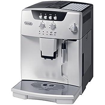 DeLonghi ESAM04110S Magnifica Fully Automatic Espresso Machine with Manual Cappuccino System Silver