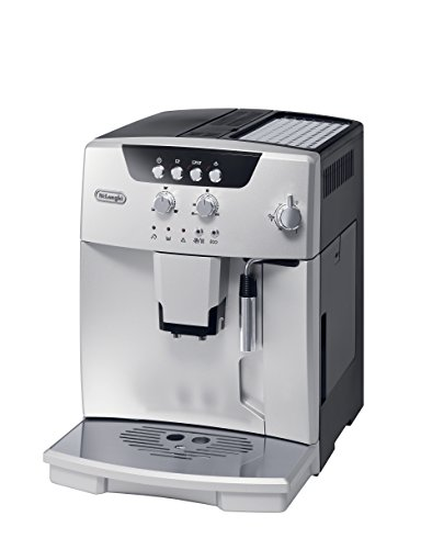 De'Longhi ESAM04110S Magnifica Fully Automatic Espresso Machine with Manual Cappuccino System, Silver