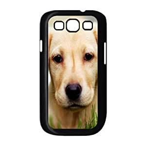 Cute Dog Shell Phone for samsung galaxy s3 Black Cover Phone Case