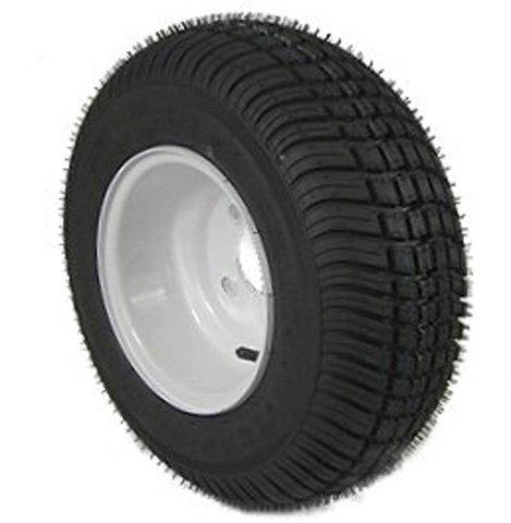 American Tire 3H370 205/65-10 Tire & Wheel (C) 4 Hole / White