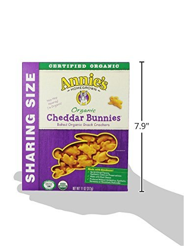 Annie's Homegrown Organic Cheddar Crackers, Bunnies, 11 Ounce by Annie'sHomegrown (Image #6)