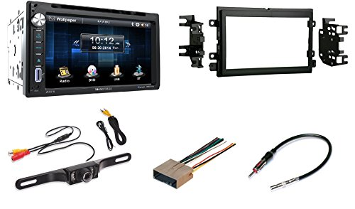 Ford Mercury Touchscreen Double Din Bluetooth CD/DVD/AUX/USB Car Radio Stereo with Free Backup Camera