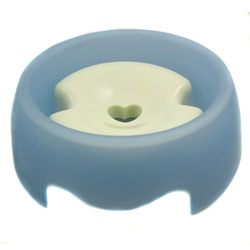 Blue Muzzle Brake (Alfie Pet by Petoga Couture - Slow-Down Pet Water Bowl (for Dogs & Cats) - Color: Blue)