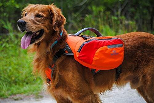 Multi-Purpose Dog Backpack Life Jacket