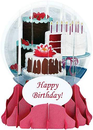 3D Snow Globe - BIRTHDAY CAKES - Birthday ()