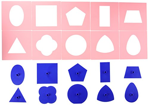 Didax Educational Resources Montessori Shapes Set by Didax