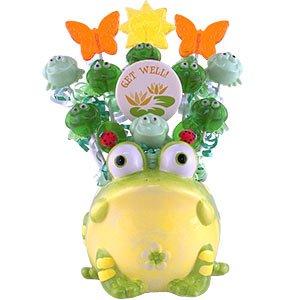 Lollipop Bouquet Big Frog Get Well.