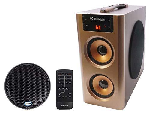 Samson CM11B Omni-directional Boundary Microphone+Home Theater Bluetooth Speaker