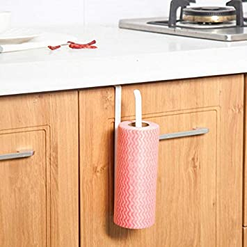 ICRI-SHOP Iron Kitchen Storage Rack Tissue Hook Toilet Roll Paper Holder Bathroom Towel Rack Shelf Door Sink Hanging Organizer - - Amazon.com