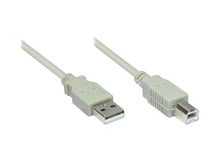 Alcasa USB 2.0 10m - Cable USB (10 m, USB A, USB B, 2.0, Male ...