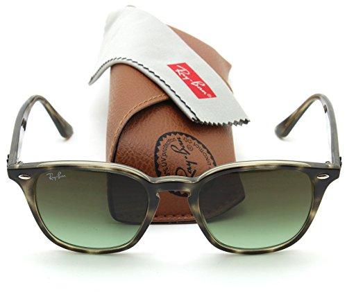 Ray-Ban RB4258 Round Fleck Unisex Gradient Sunglasses 731/E8, - Sunglasses Round Ban Ray Fleck