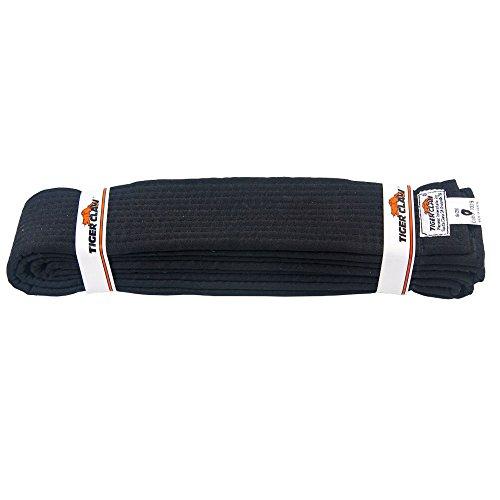 Uniform Belt - Extra Wide Black #5 - Tiger Cotton Belt
