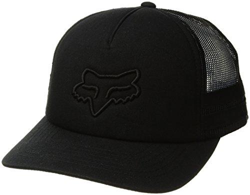 Fox Womens Hat - Fox Junior's Head TRIK Trucker HAT, Black, OS