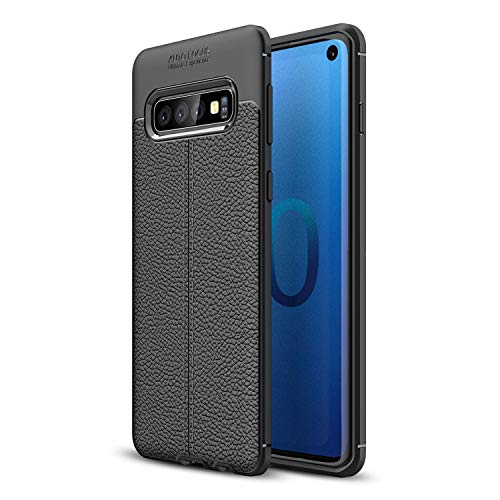 Olixar for Samsung Galaxy S10 Case, Leather Back...