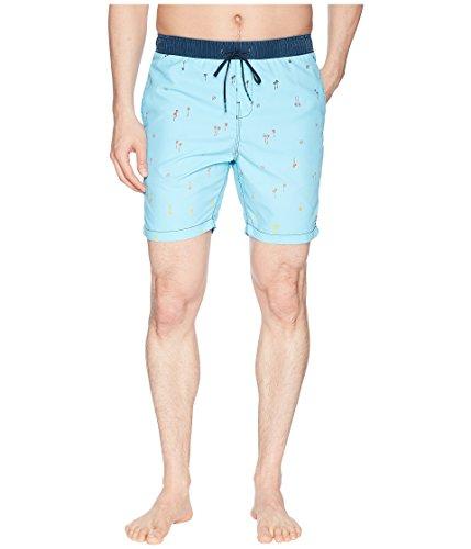 Billabong Men's Sundays Layback Boardshorts Light Blue Medium