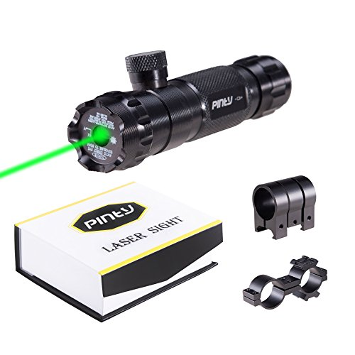 Pinty-Hunting-Rifle-Green-Laser-Sight-Dot-Scope-Adjustable-with-Mounts