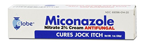 Af Antifungal Jock Itch Cream (Miconazole Nitrate 2 % Antifungal Cream - 1 Oz Tube)