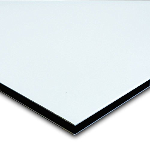 Aluminum Composite Sign Panel Sheet 1 8  X 24  X 48    White