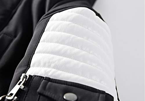 Outdoor Hooded Men's Long Coat Casual Winter Warm ORANDESIGNE Thicken Jacket Parka Faux Black Fur Windproof Outwear Windbreaker 0wqOdwHc