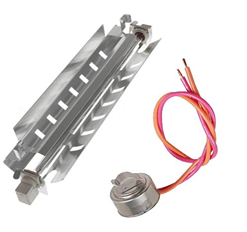 - WR50X10068 Thermostat with Wr51x10055 Defrost Heater Refrigerator for General Electric Hotpoint P3183311 914088 AH303781 EA303781 PS303781 WR51X10030 by Swess