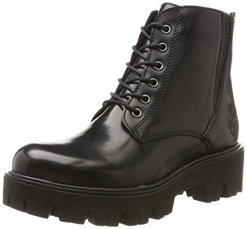 Black Brush Combat TOZZI Damen Schwarz MARCO 25233 Boots dtY0qxSw