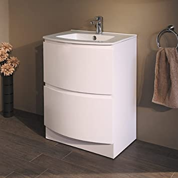 600 Vanity Unit Basin With Cabinet White (+5 Styles Of 600 Vanity Units)