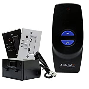 Amazon.com: Fireplace Remote Control On/Off Battery Receiver ...