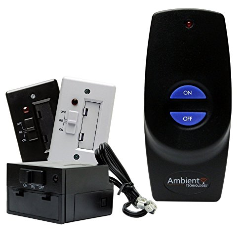 Ambient Technologies Fireplace Remote Control On/Off Batt...