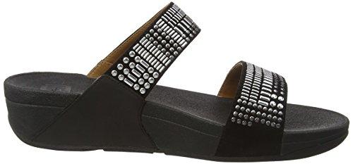 Sandales Noir Chada Black Femme Slide Aztec FitFlop 7txSBnqtX