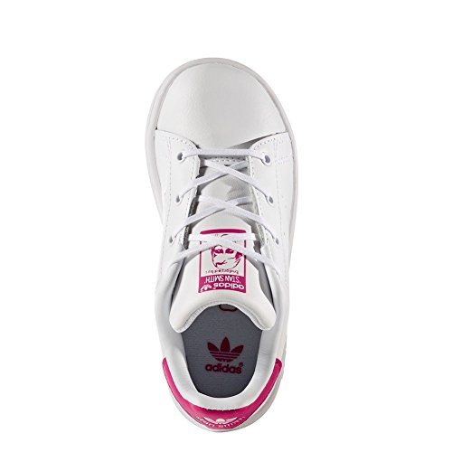 Zapatillas adidas – Stan Smith I blanco/blanco/rosa talla: 25,5