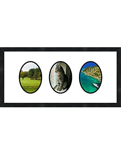 Frames by Mail Triple Oval Opening Collage Frame for 3.5