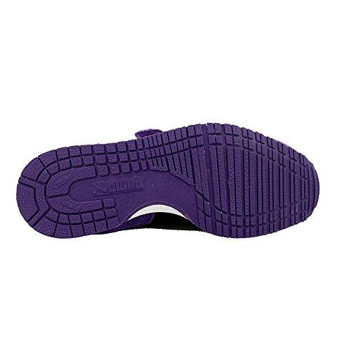 Puma - Cabana Racer - 36073245 - Farbe: Schwarz-Violett-Weiß - Größe: 34.5