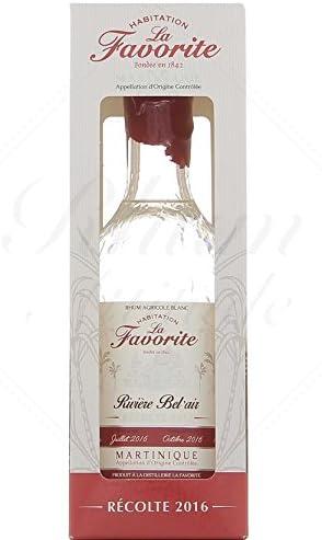 Ron La Favorite Coeur De Canne Blanc 40% 100 cl: Amazon.es ...