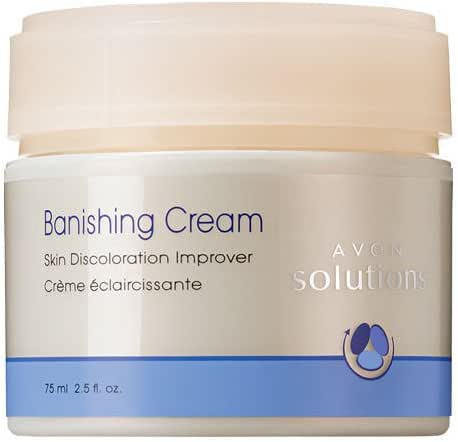 AVON SOLUTIONS BANISHING CREAM - IMPROVES SKIN DISCOLORATIONS - FULL SIZE Good Product quality!!