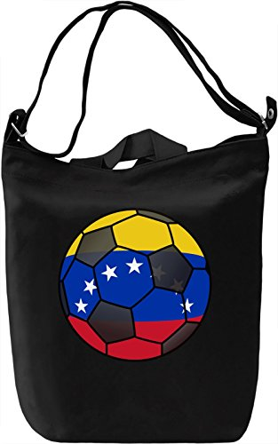 Venezuela Football Borsa Giornaliera Canvas Canvas Day Bag| 100% Premium Cotton Canvas| DTG Printing|