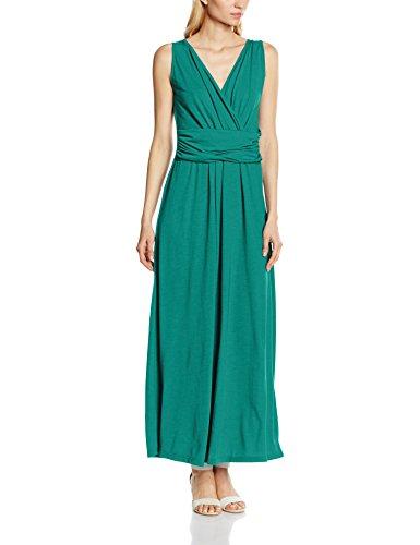 V Verde para Maxi Green Emerald Vestido Cross Over Mujer HotSquash dZHqwBd